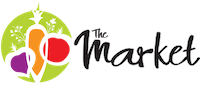 A theme logo of The Market